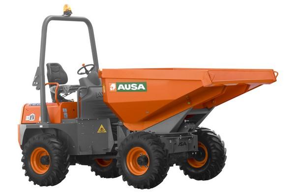 Dumper à roues AUSA D400 AHG en location – 4 T