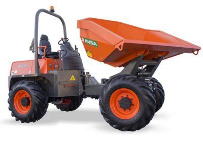 Dumper à roues AUSA D600 APG en location – 6 T