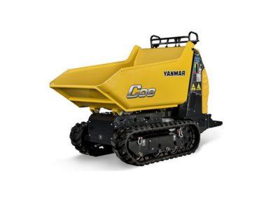 Dumper à chenilles Yanmar C08 en location – 800 kg