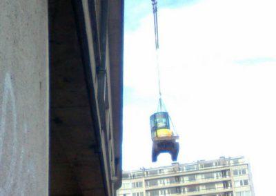 Déplacement de machine professionnelle à Liège