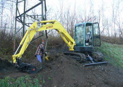 Machine de terrassement en location à Liège